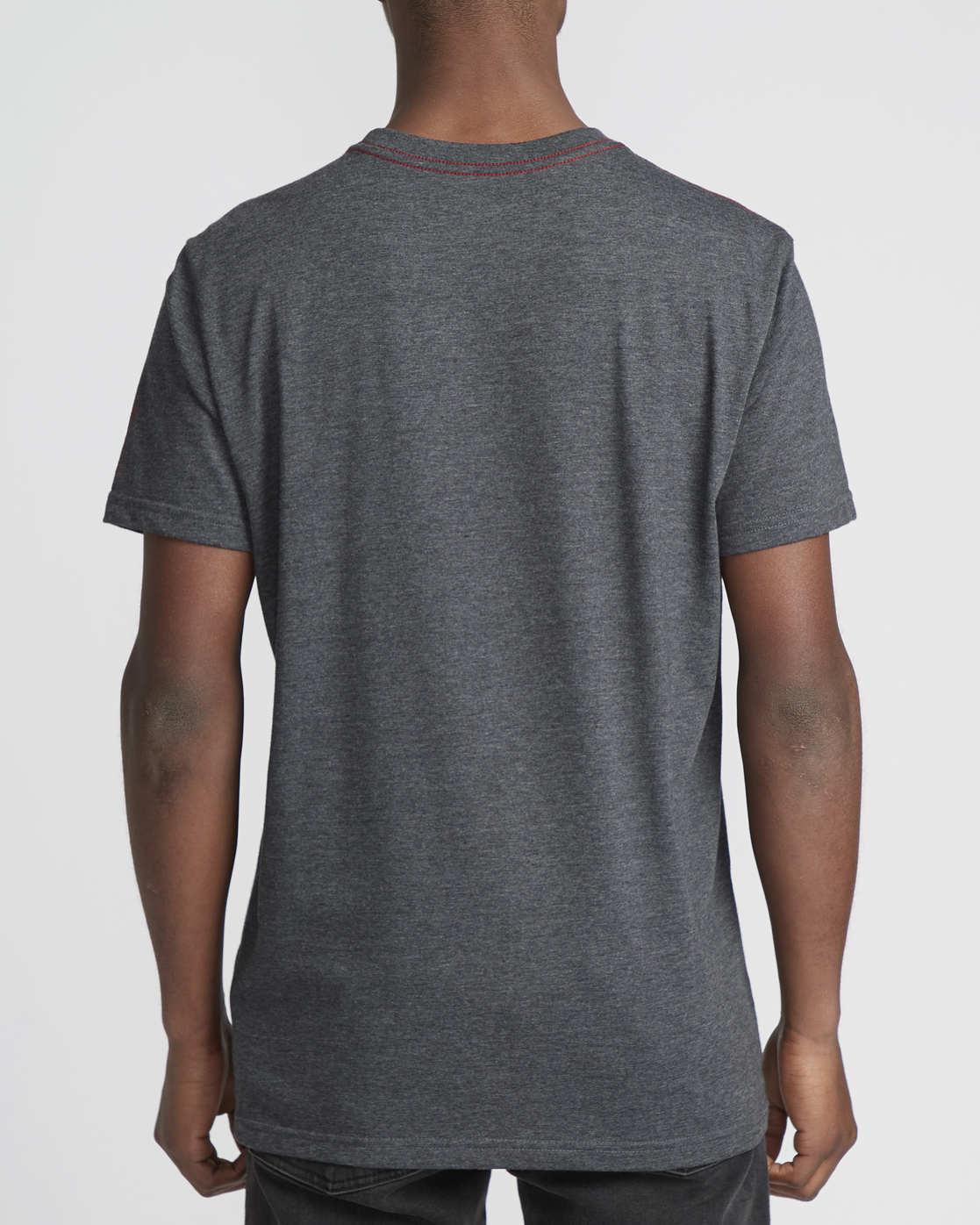 2 Siam  - Short Sleeve T-Shirt Grey Q1SSRTRVF9 RVCA