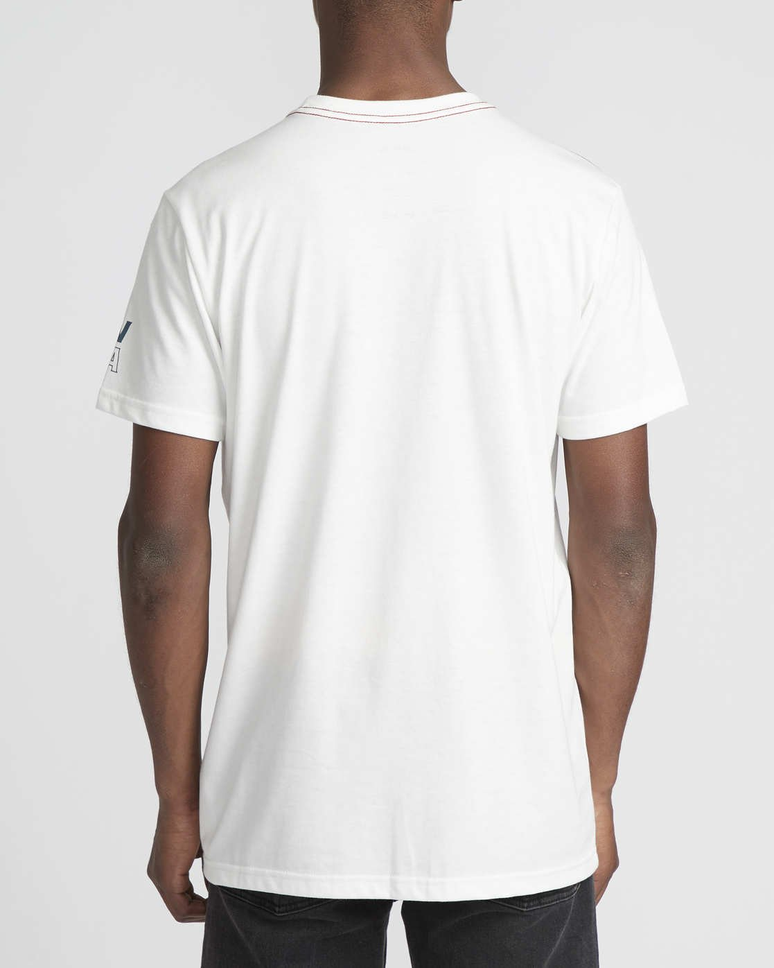 4 Siam  - Short Sleeve T-Shirt White Q1SSRTRVF9 RVCA