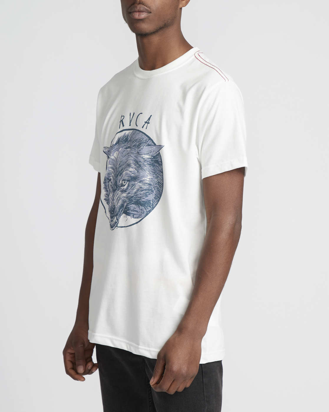 3 Snarl  - Short Sleeve T-Shirt for Men White Q1SSRURVF9 RVCA