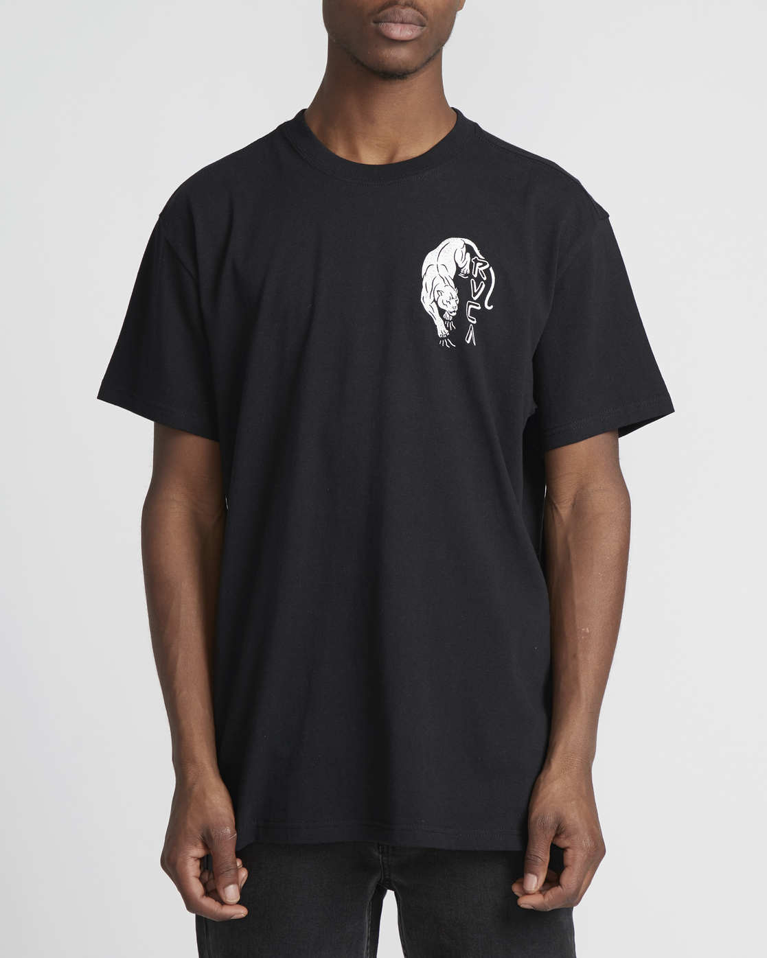 4 Prowler  - Short Sleeve T-Shirt Black Q1SSRVRVF9 RVCA