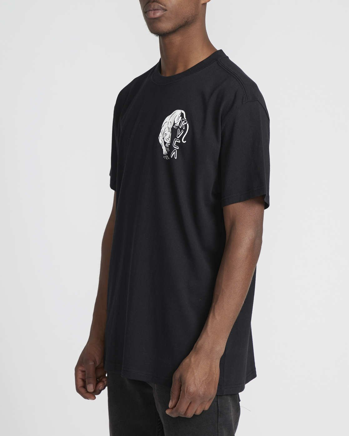 3 Prowler  - Short Sleeve T-Shirt Black Q1SSRVRVF9 RVCA