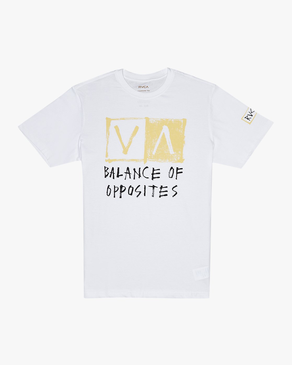 0 RVCA Blocker  - Short Sleeve T-Shirt White Q1SSSARVF9 RVCA