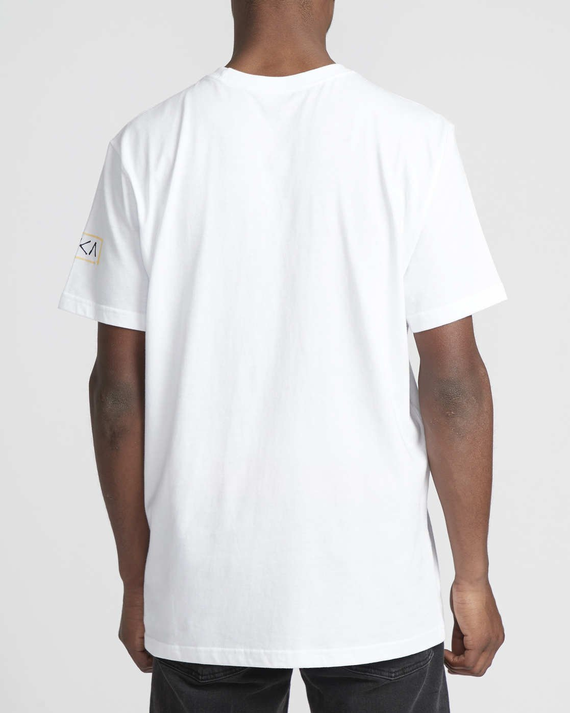 4 RVCA Blocker  - Short Sleeve T-Shirt White Q1SSSARVF9 RVCA
