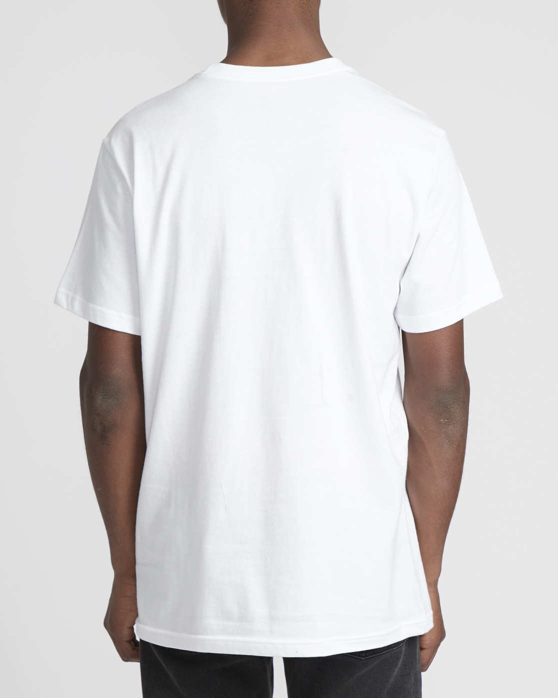 2 Serpent Curved  - Short Sleeve T-Shirt White Q1SSSBRVF9 RVCA