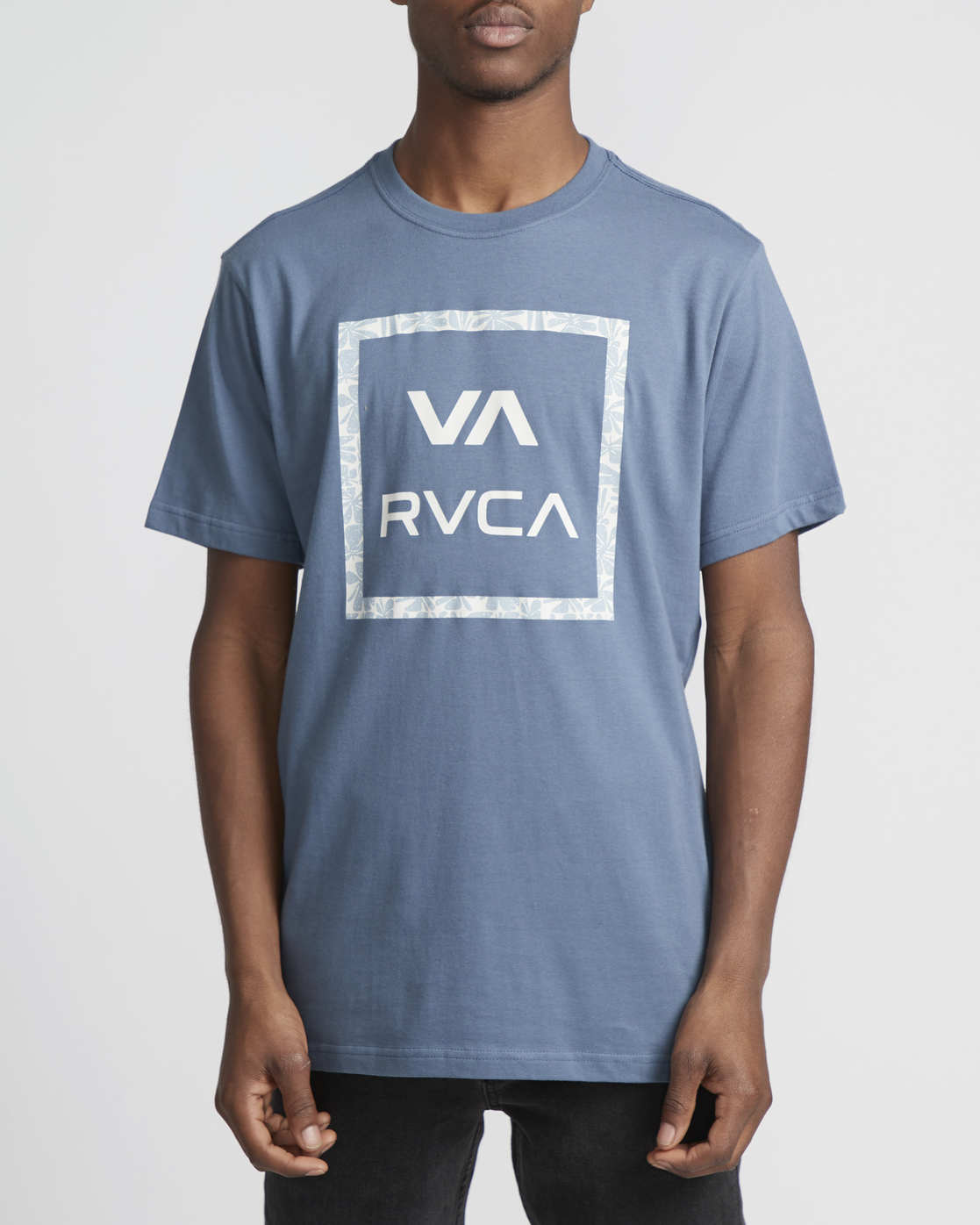 0 VA All The Ways Multi  - Short Sleeve T-Shirt Blue Q1SSSCRVF9 RVCA