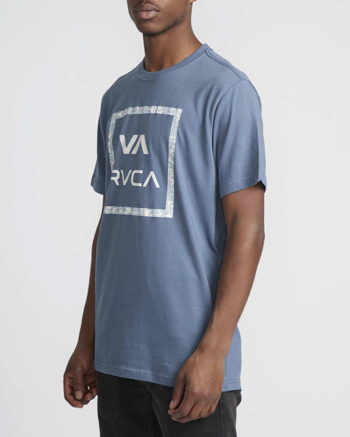 1 VA All The Ways Multi  - Short Sleeve T-Shirt Blue Q1SSSCRVF9 RVCA