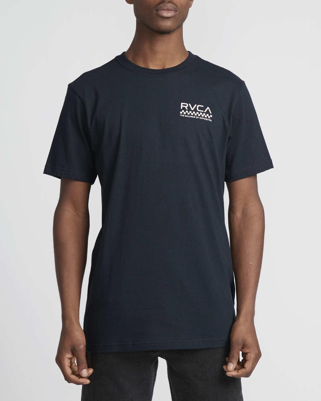 4 Check Mate  - T-Shirt à manches courtes pour Homme  Q1SSSDRVF9 RVCA