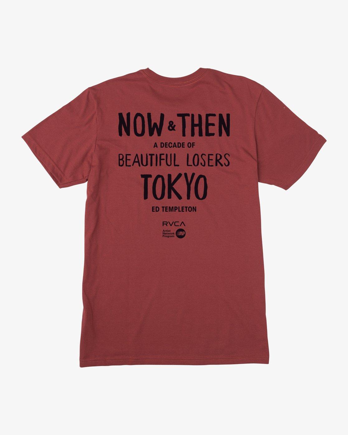 1 Ed Templeton BL Tokyo - T-shirt pour Homme Rouge Q1SSTHRVF9 RVCA