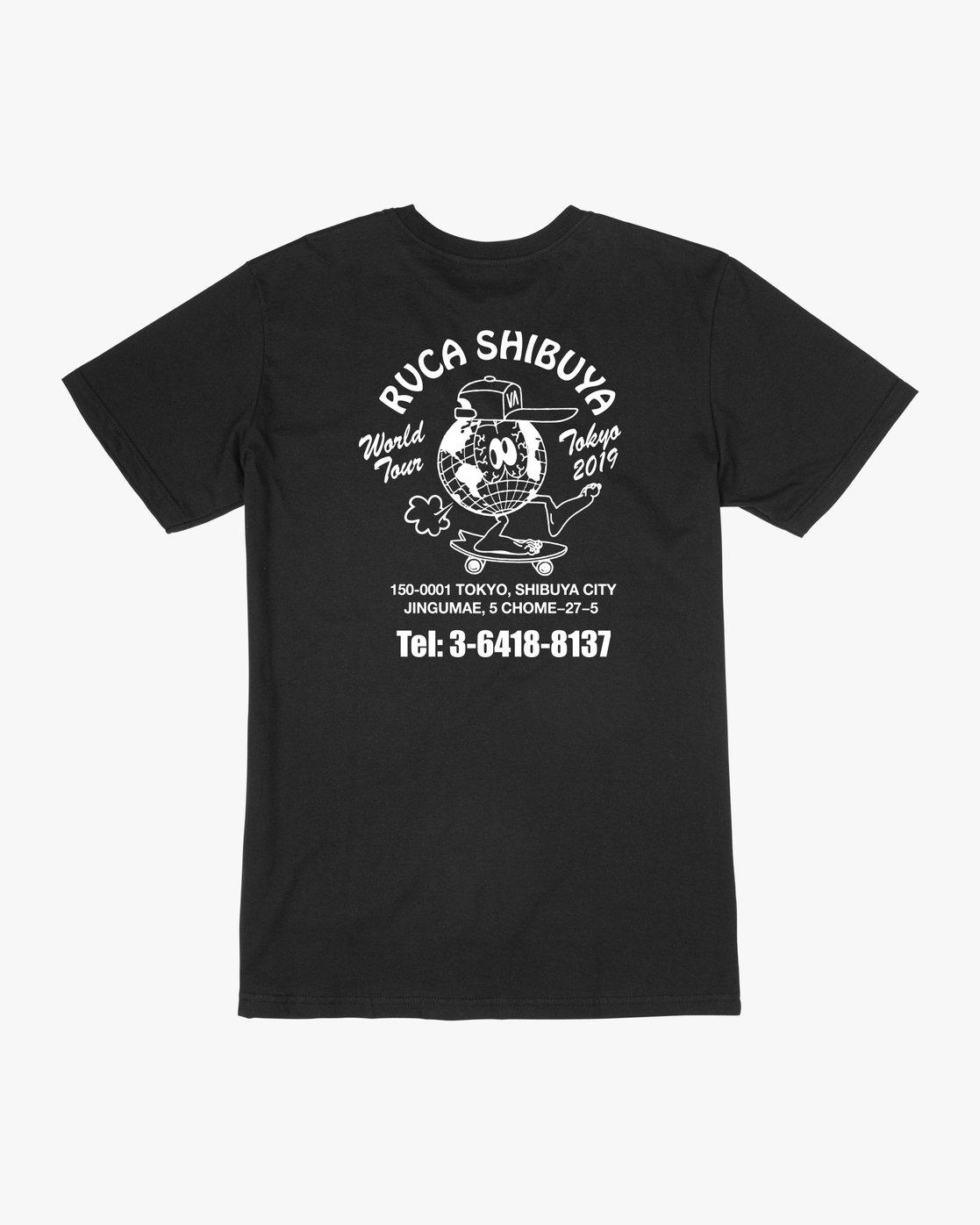 0 RVCA Shibuya - T-Shirt for Men  Q1SSTPRVF9 RVCA