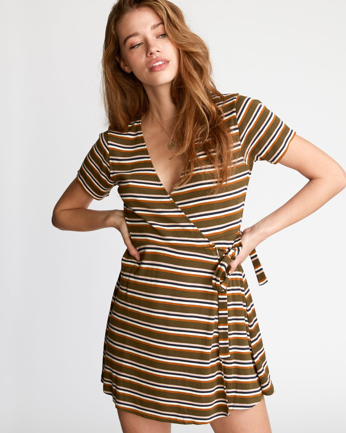 1 Slater  - Wrap Dress  Q3DRRARVF9 RVCA