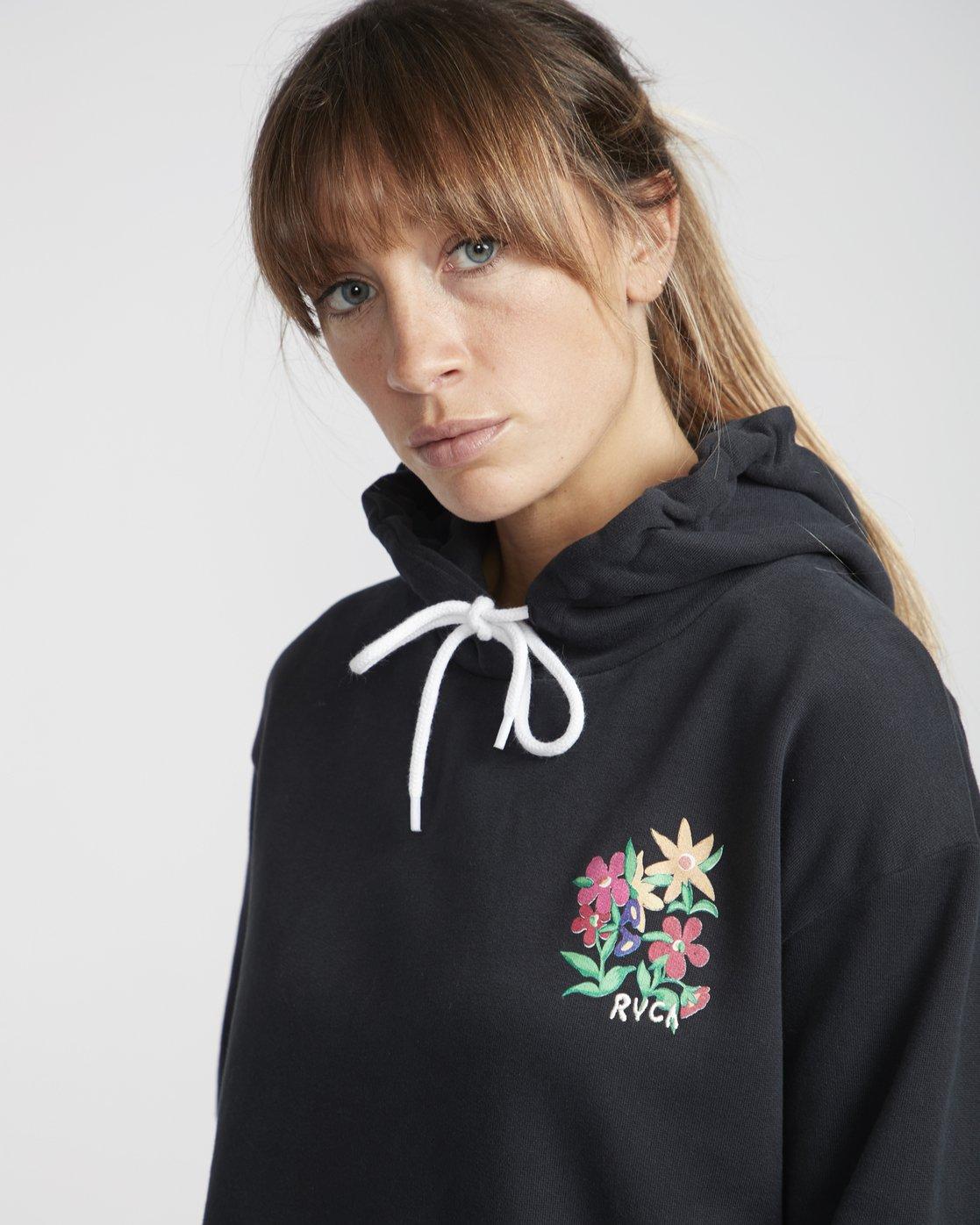 2 Melissa Grisancich Bouquet  - Pull à capuche pour Femme  Q3HORDRVF9 RVCA