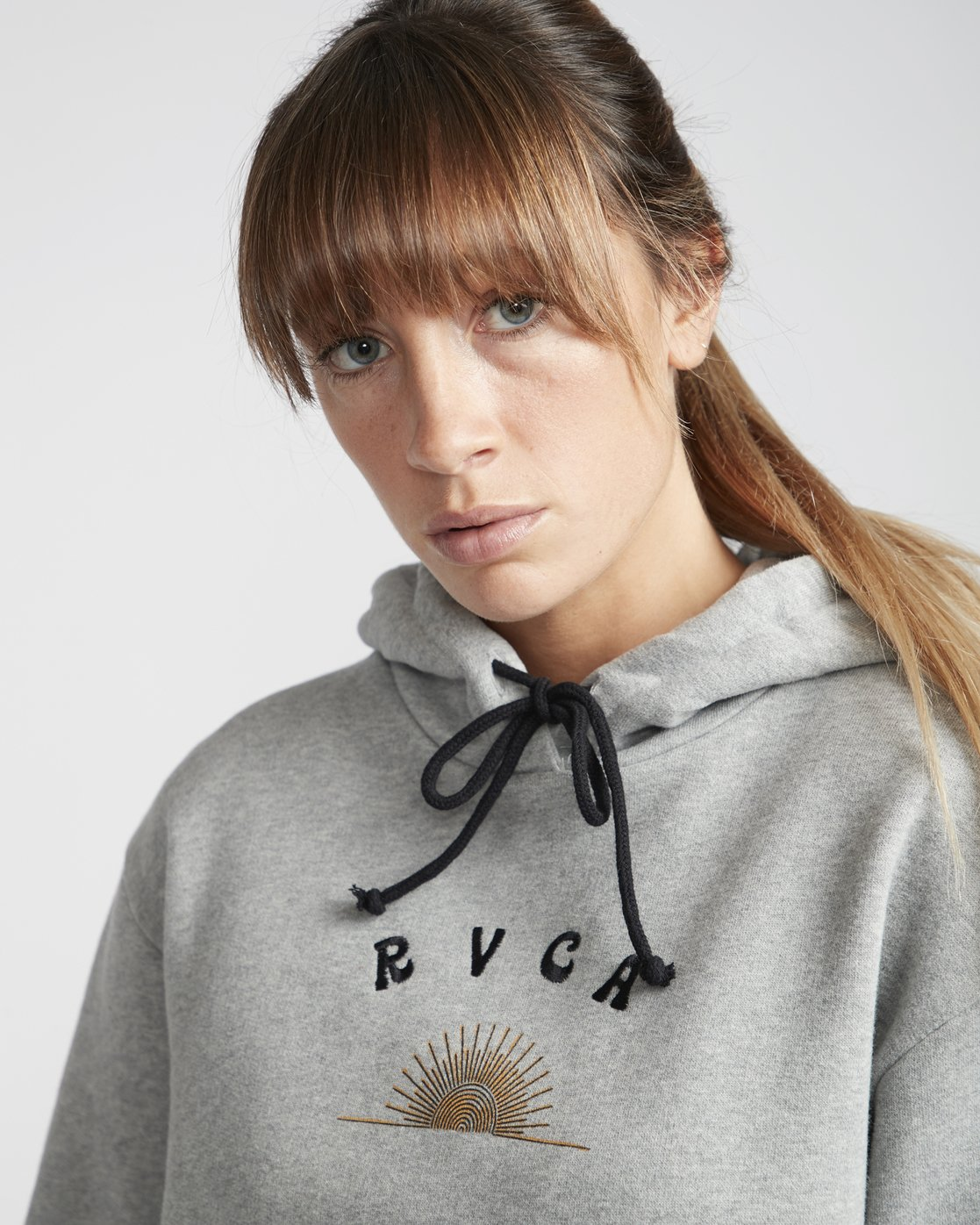2 Sunshine  - Pull à capuche pour Femme Gris Q3HORERVF9 RVCA