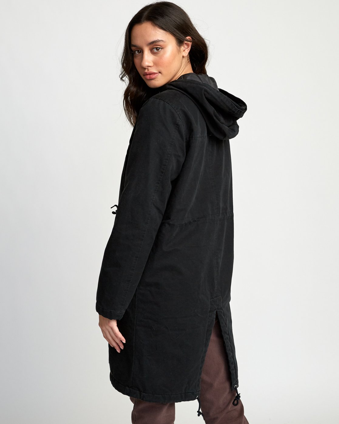 2 Managed  - Parka Coat Black Q3JKRCRVF9 RVCA