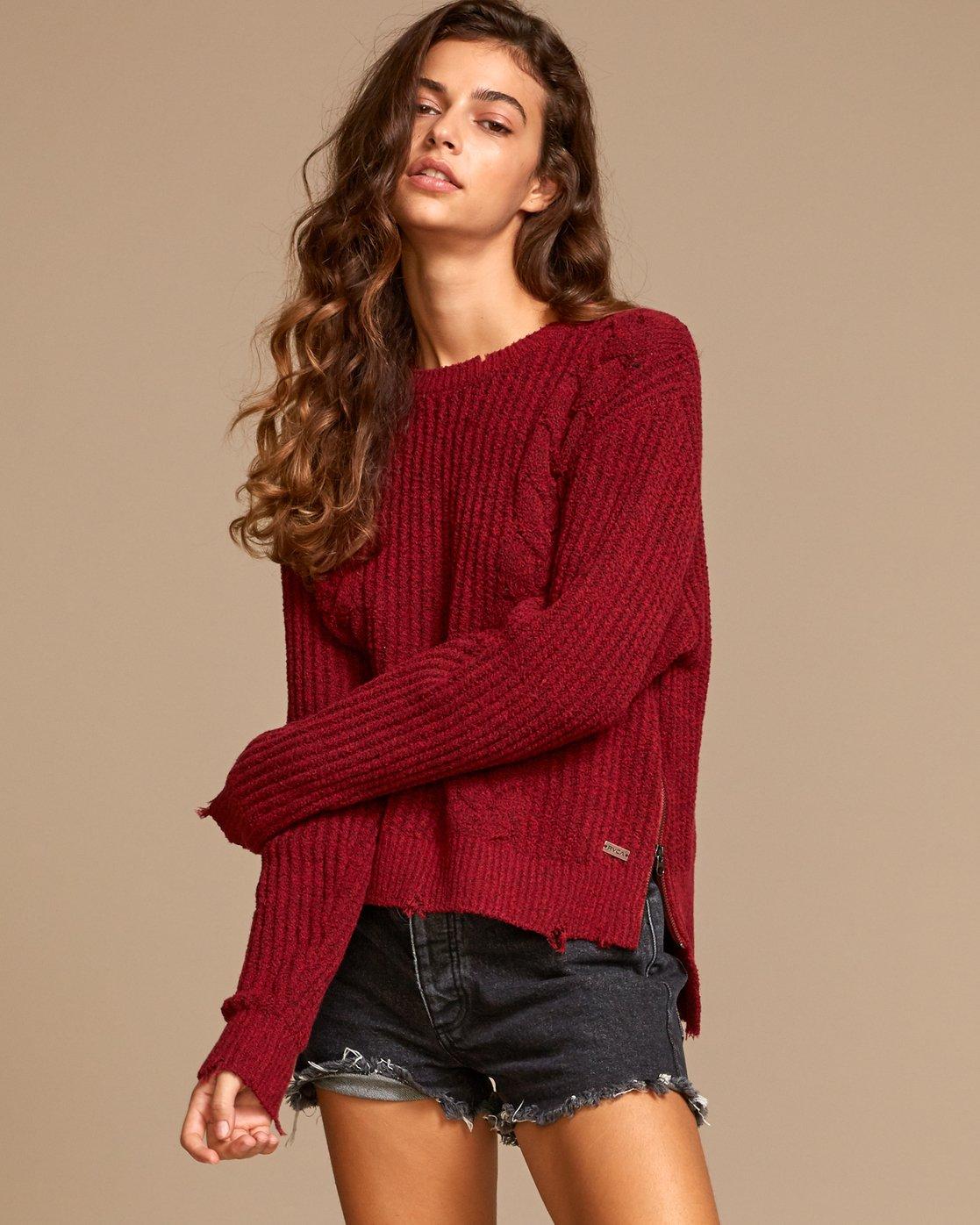 1 Drop Out  - Zip Sweater  Q3JPRCRVF9 RVCA