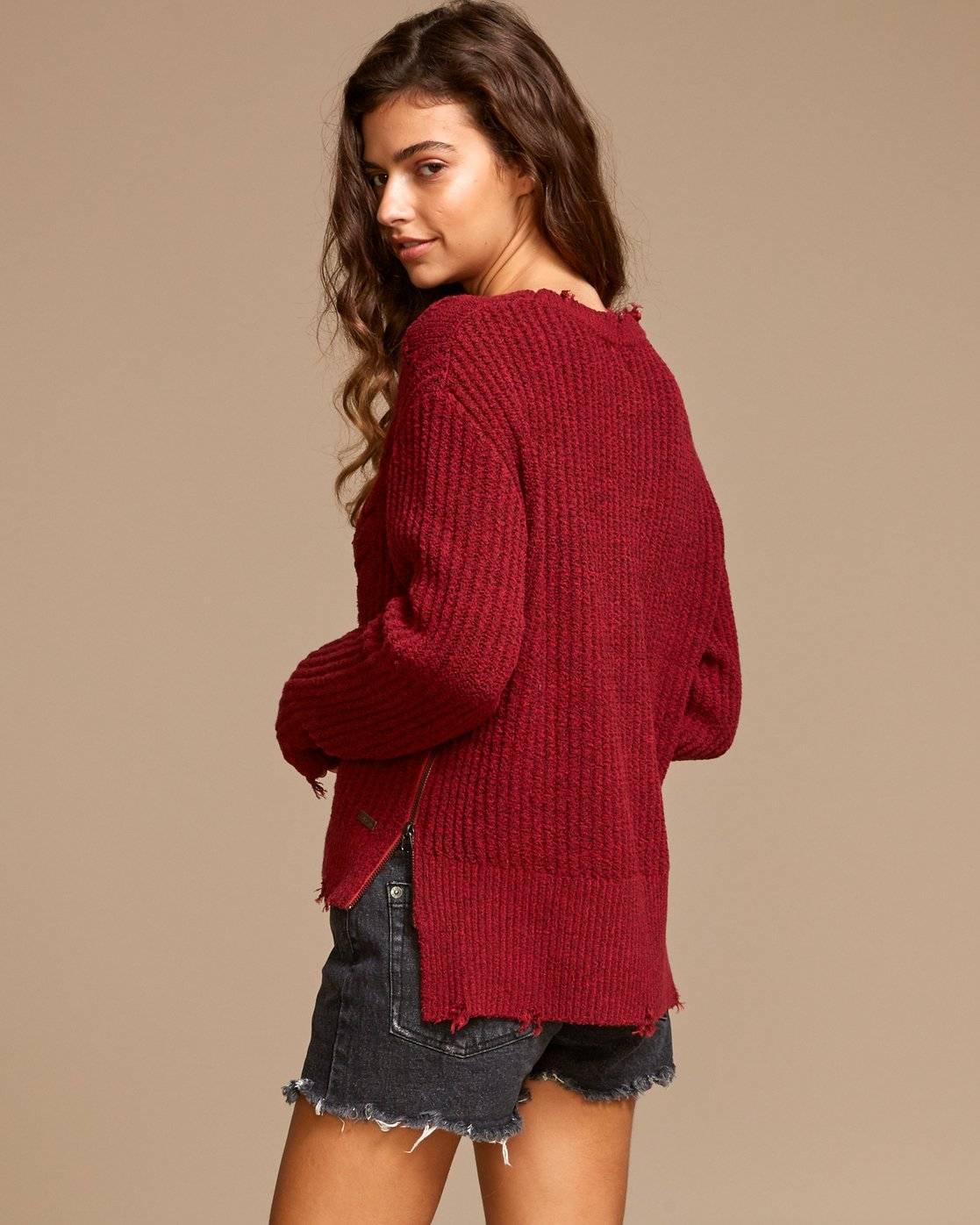 2 Drop Out  - Zip Sweater  Q3JPRCRVF9 RVCA