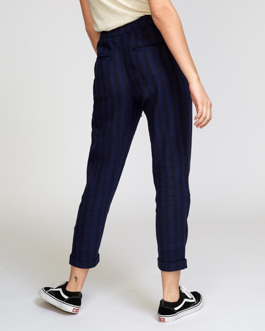 5 Scout  - Striped Trousers  Q3PTRDRVF9 RVCA