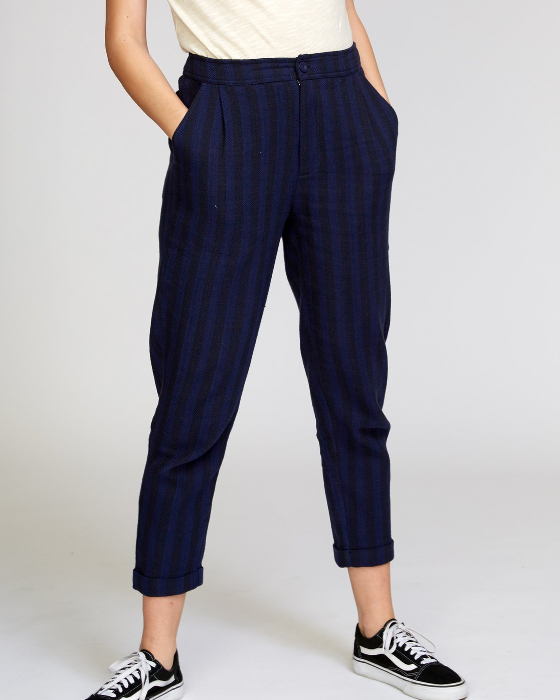 2 Scout  - Striped Trousers  Q3PTRDRVF9 RVCA
