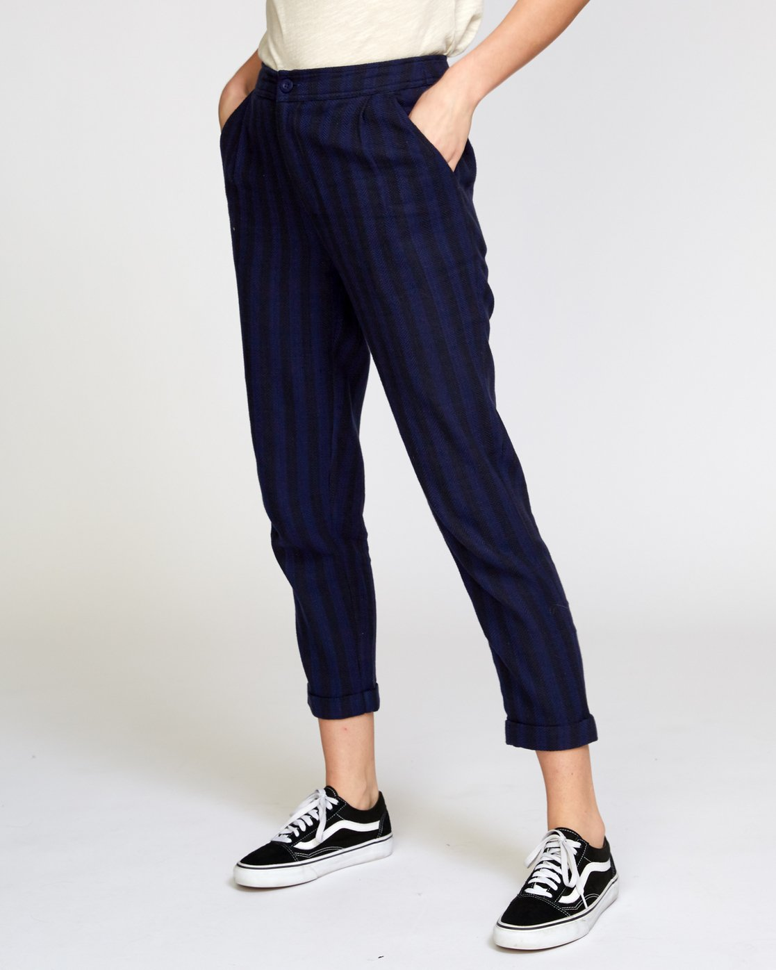 3 Scout  - Striped Trousers  Q3PTRDRVF9 RVCA