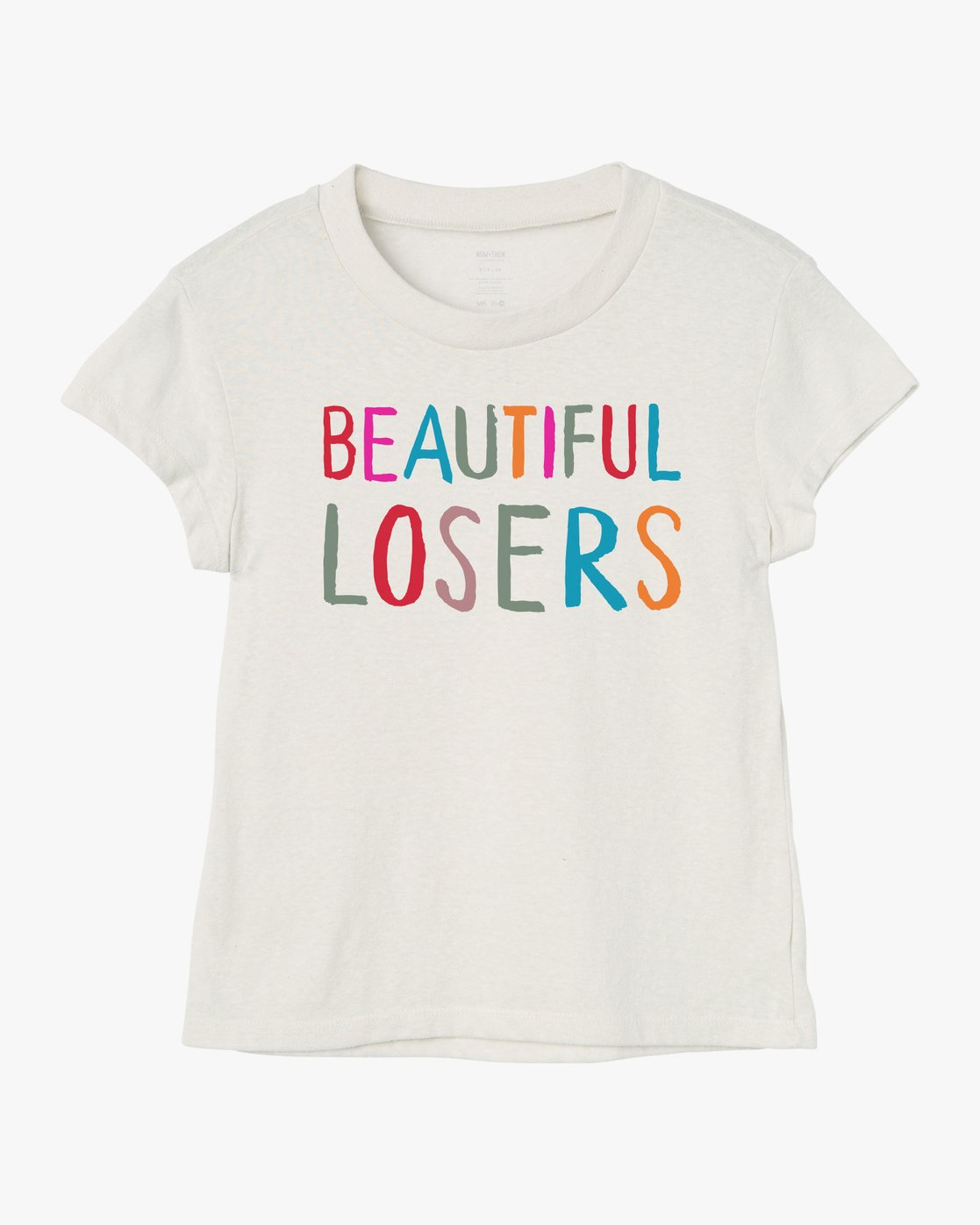 0 Beautiful Losers - Fitted T-Shirt for Women White Q3SSTCRVF9 RVCA