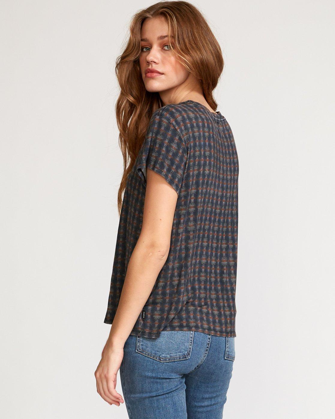 4 Suspension 3  - Strick T-Shirt für Frauen Schwarz Q3TPRDRVF9 RVCA