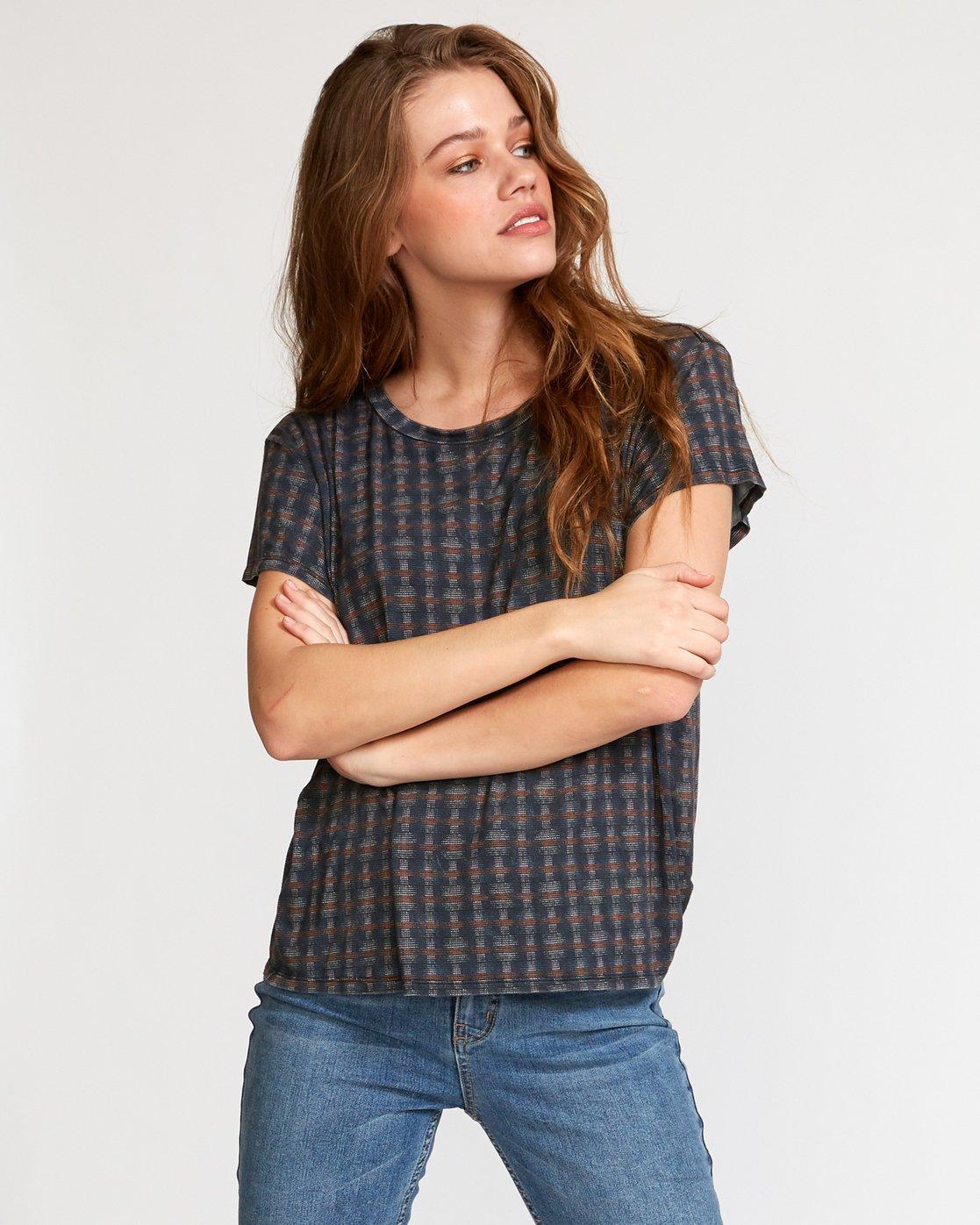 1 Suspension 3  - Strick T-Shirt für Frauen Schwarz Q3TPRDRVF9 RVCA
