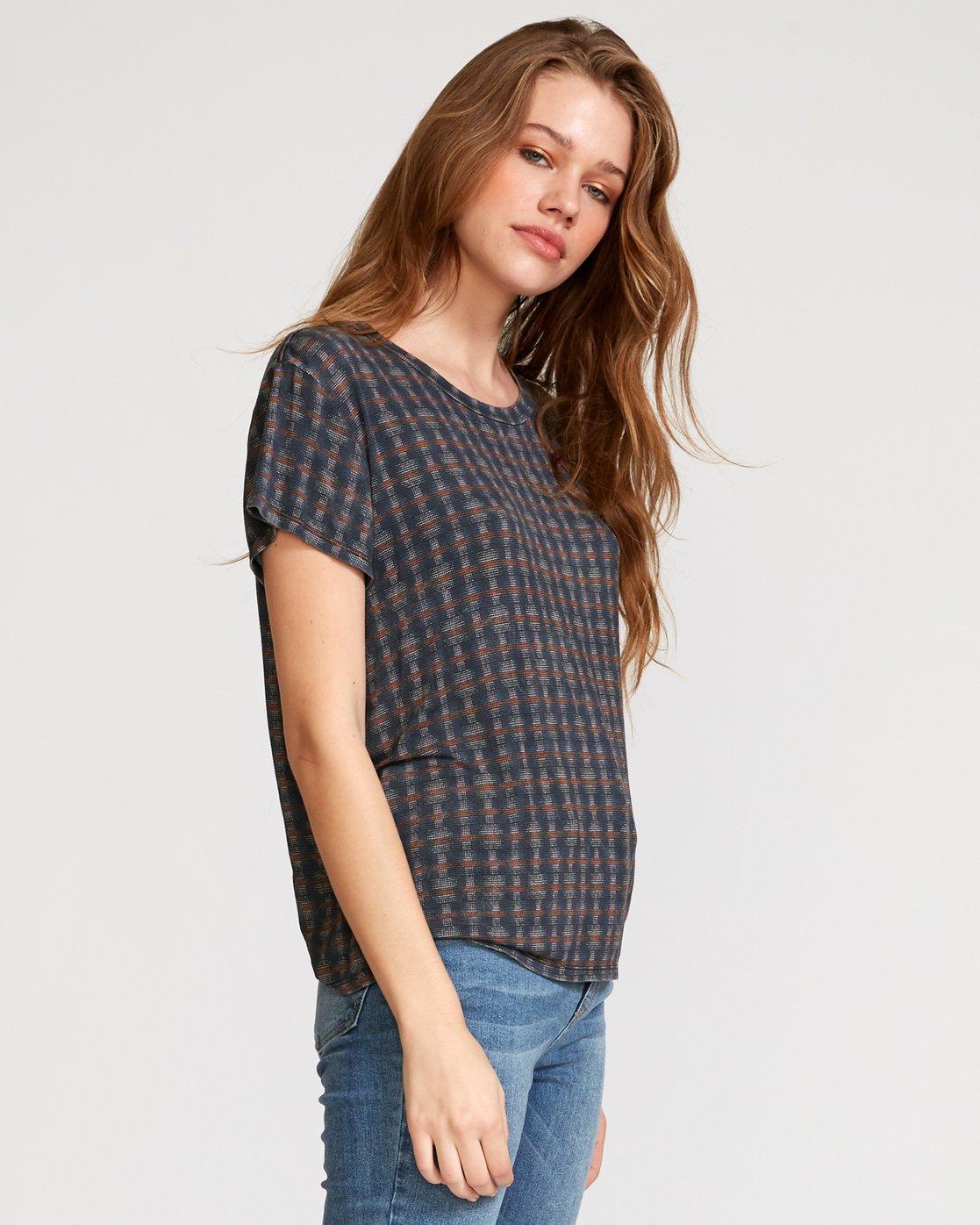 3 Suspension 3  - Strick T-Shirt für Frauen Schwarz Q3TPRDRVF9 RVCA