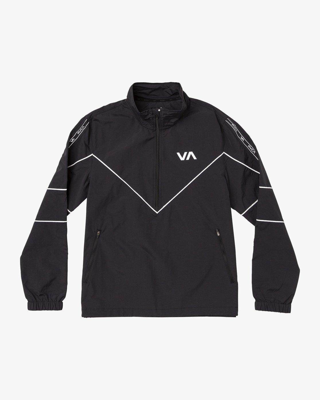 0 Transporter Anorak  - Sports Jacket Black Q4JKMARVF9 RVCA
