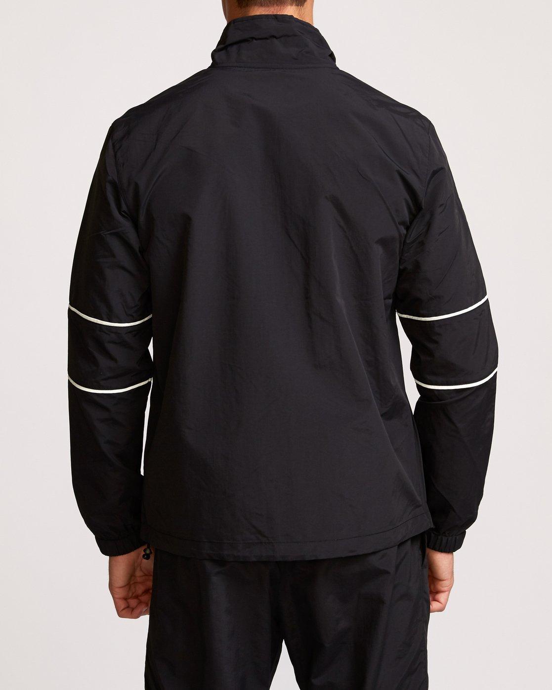 4 Transporter Anorak  - Sports Jacket Black Q4JKMARVF9 RVCA