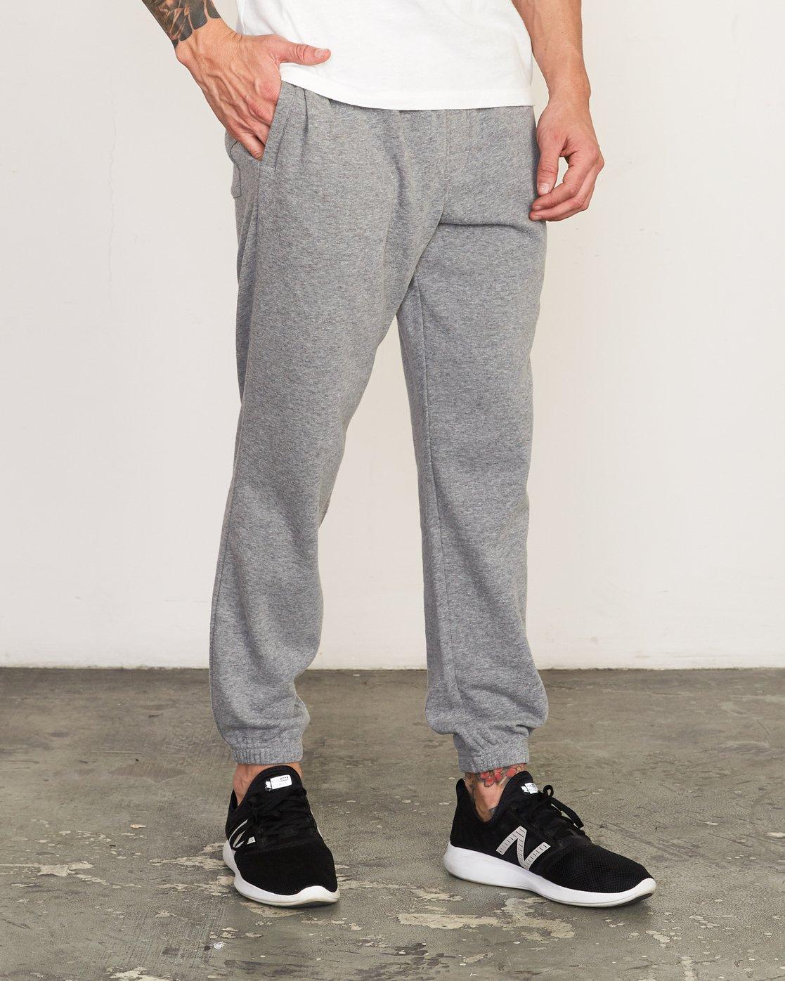 5 Cage II  - Sports SweatTrousers Grey Q4PTMARVF9 RVCA