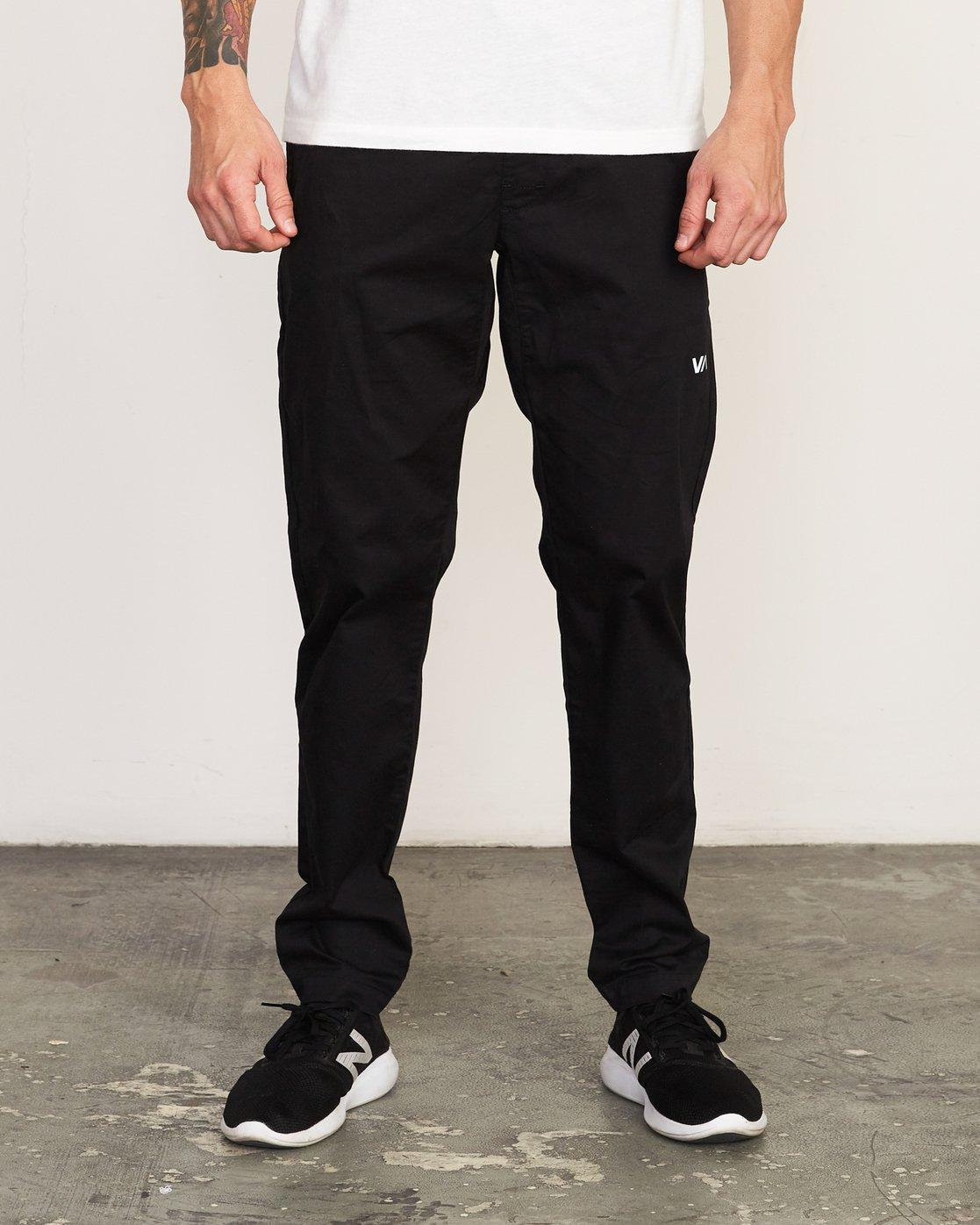 0 Spectrum II  - Sports Trousers Black Q4PTMCRVF9 RVCA