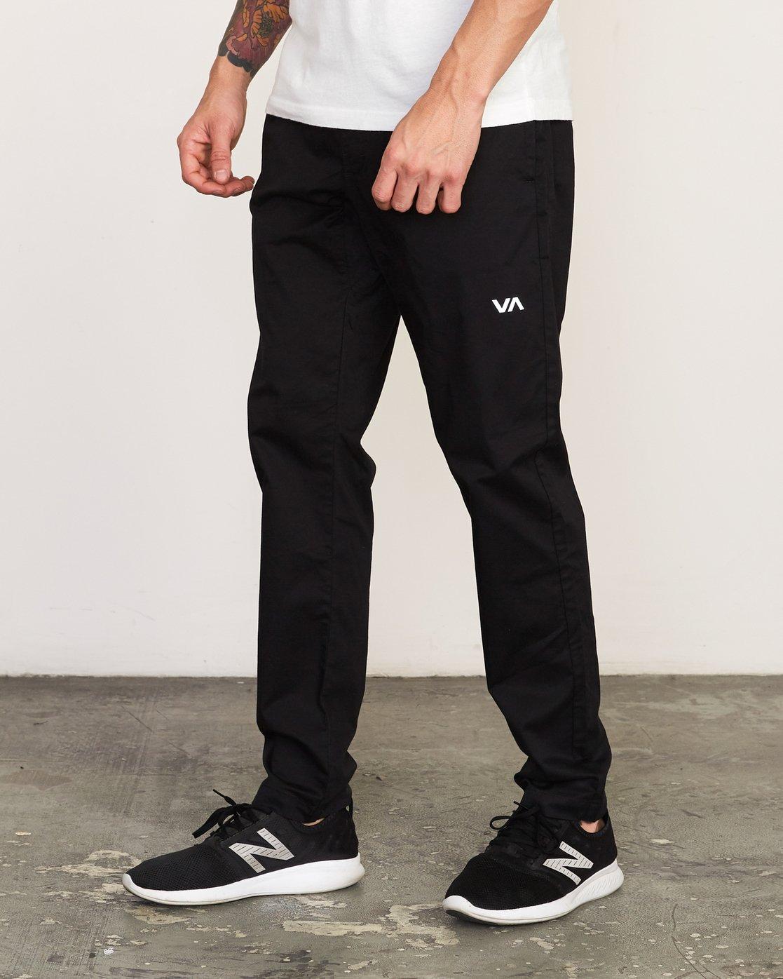 1 Spectrum II  - Sports Trousers Black Q4PTMCRVF9 RVCA