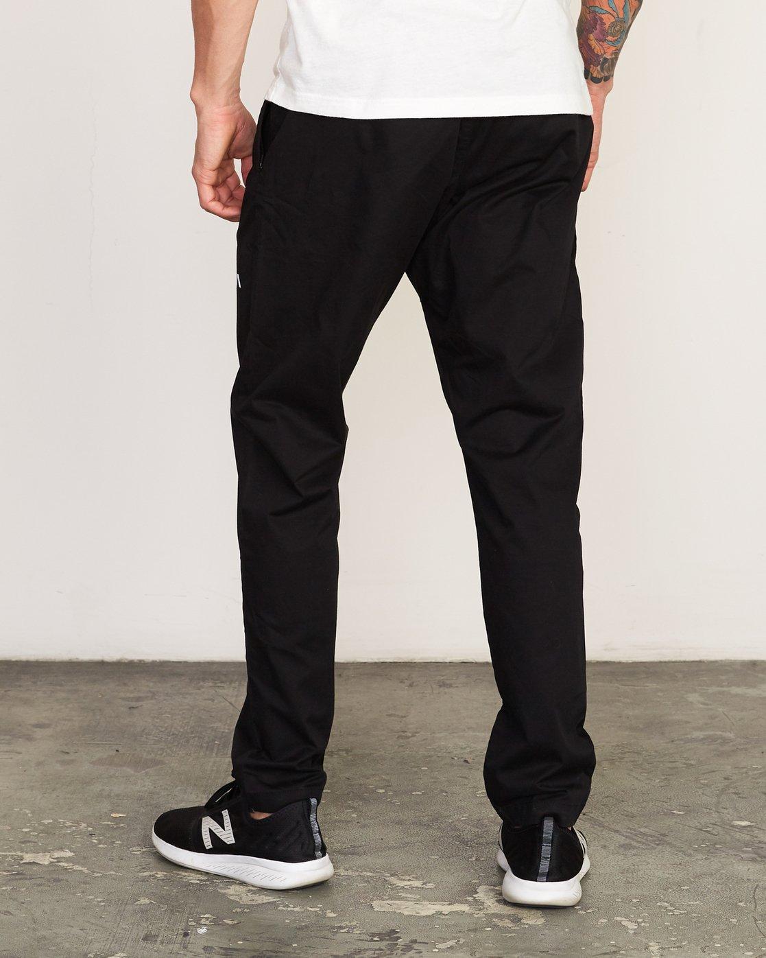2 Spectrum II  - Sports Trousers Black Q4PTMCRVF9 RVCA