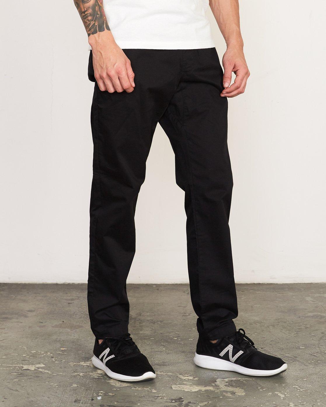 4 Spectrum II  - Sports Trousers Black Q4PTMCRVF9 RVCA