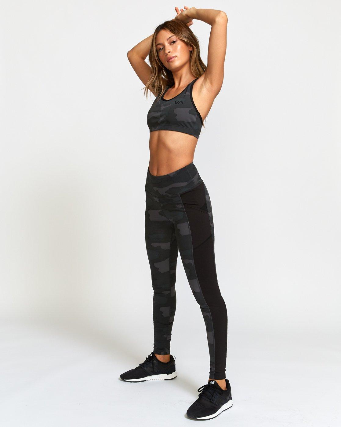 4 Atomic  - Legging de Sport taille-haute pour Femme Camo Q4PTWERVF9 RVCA