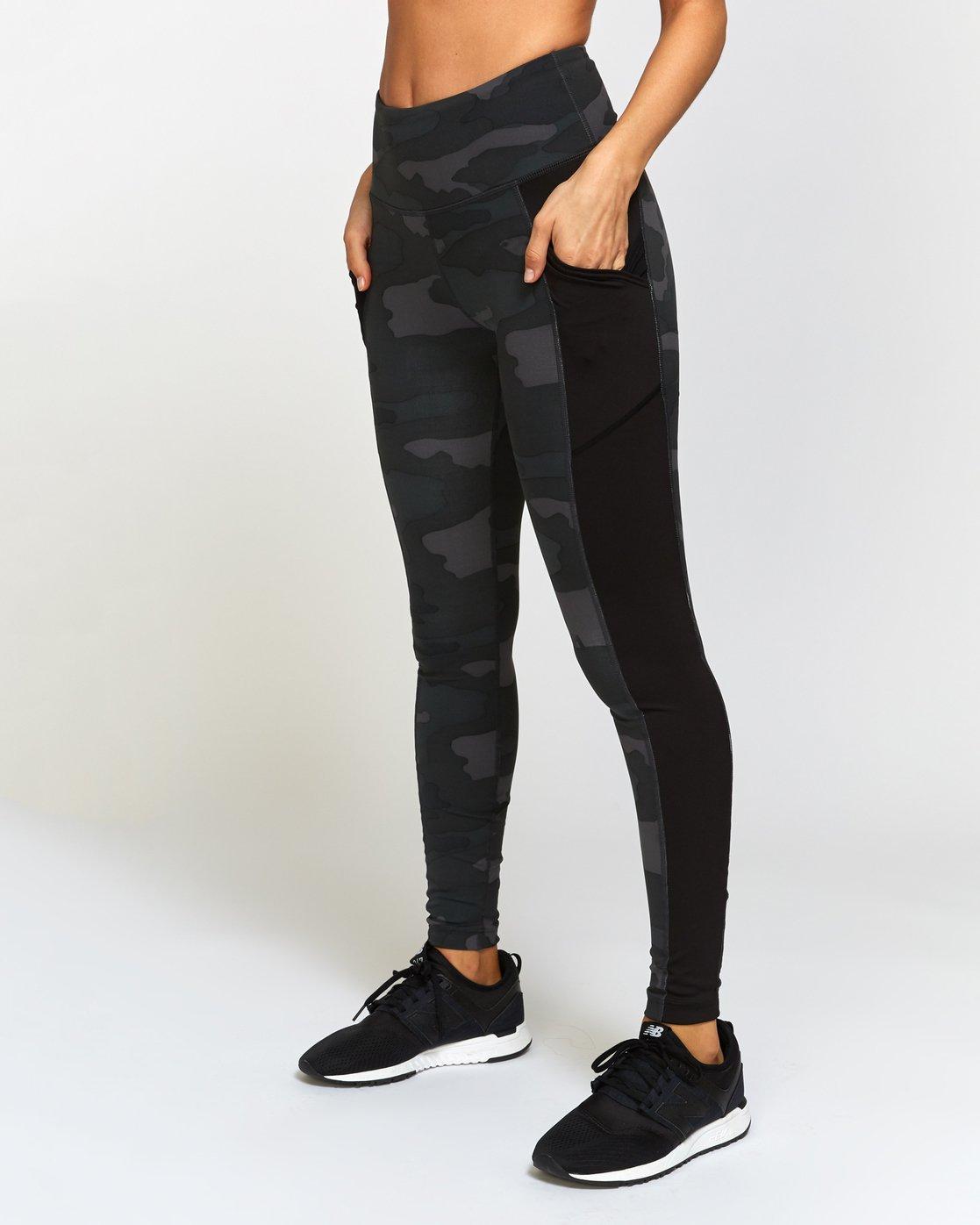 0 Atomic  - Legging de Sport taille-haute pour Femme Camo Q4PTWERVF9 RVCA