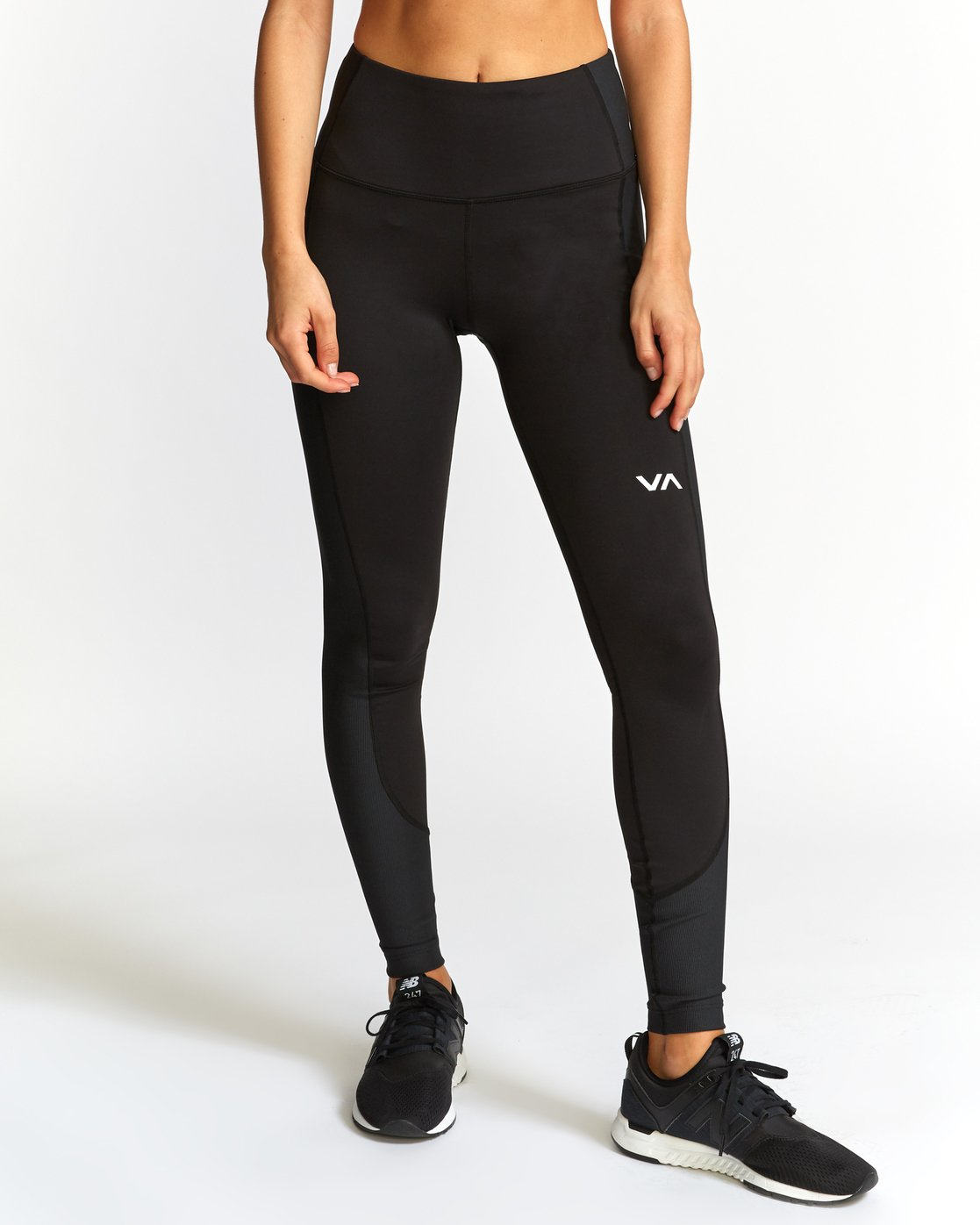 1 Andromeda  - Sports Ribbed Legging Black Q4PTWFRVF9 RVCA