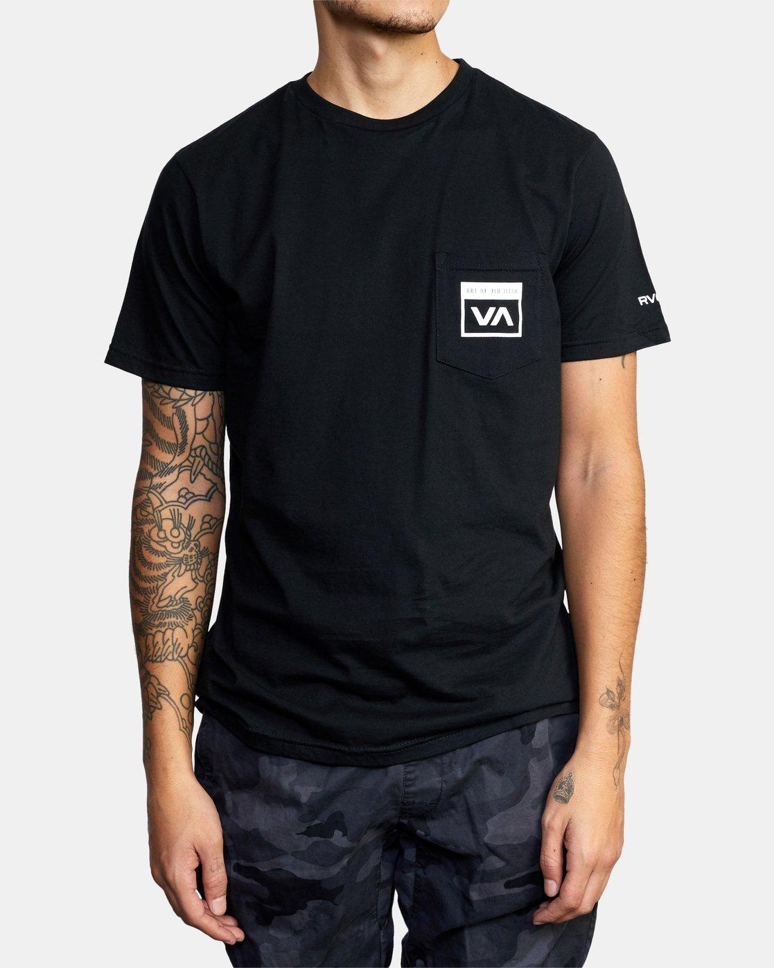 4 Art of Jiu Jitsu - T-Shirt for Men Black Q4SSACRVF9 RVCA