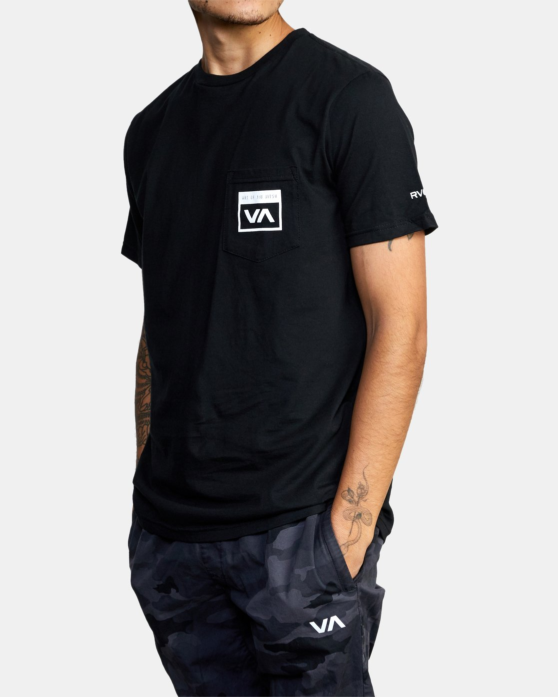 7 Art of Jiu Jitsu - T-Shirt for Men Black Q4SSACRVF9 RVCA