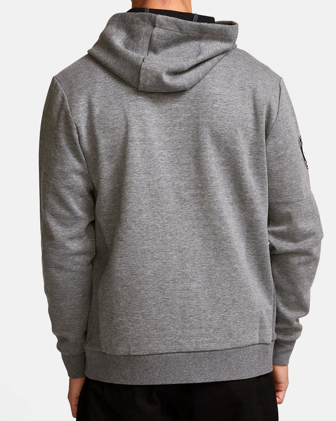 4 Sideline  - Athletic Hoodie for Men Grey Q4ZHMARVF9 RVCA