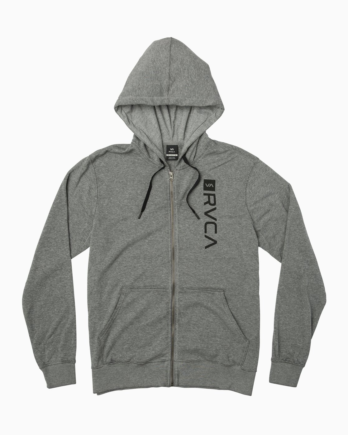 0 Cage  - Athletic Hoodie for Men Grey Q4ZHMBRVF9 RVCA