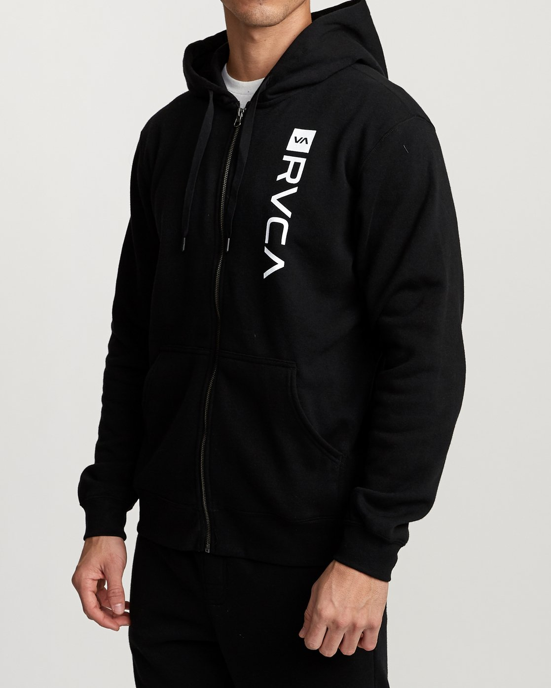 3 Cage  - Athletic Hoodie for Men Black Q4ZHMBRVF9 RVCA