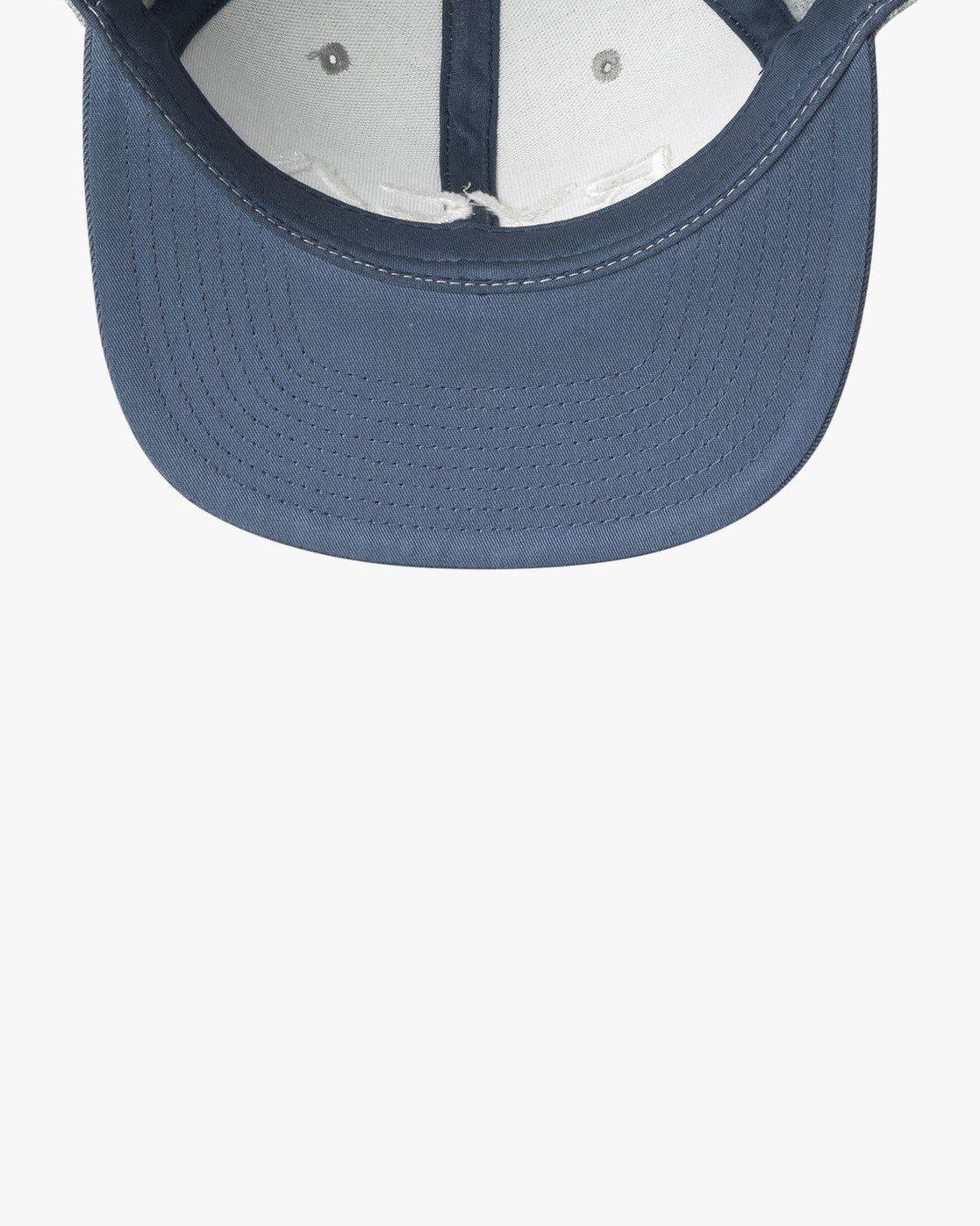 3 RVCA Twill - Snapback Hat for Men Grey Q5CPRCRVF9 RVCA