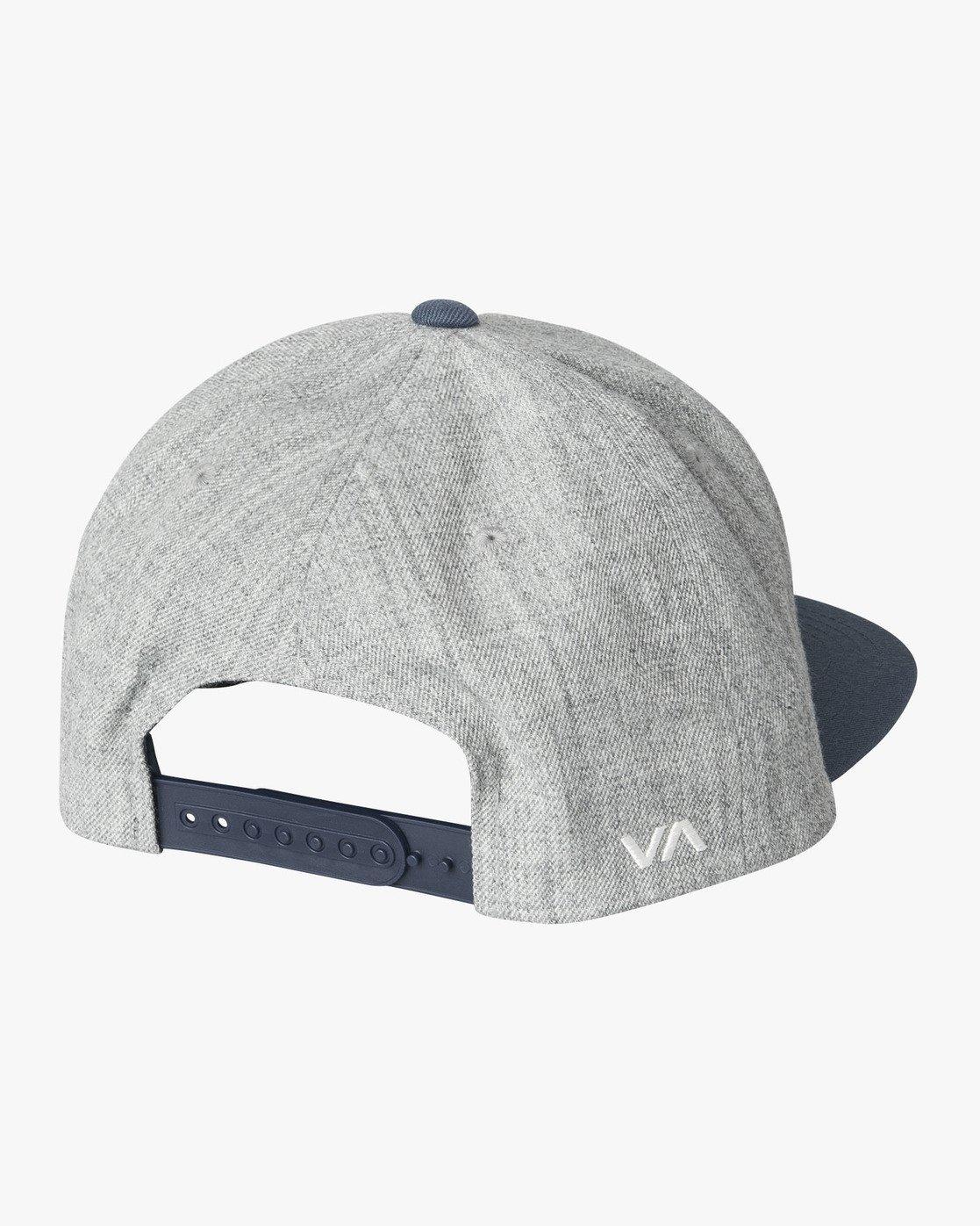 1 RVCA Twill - Snapback Hat for Men Grey Q5CPRCRVF9 RVCA