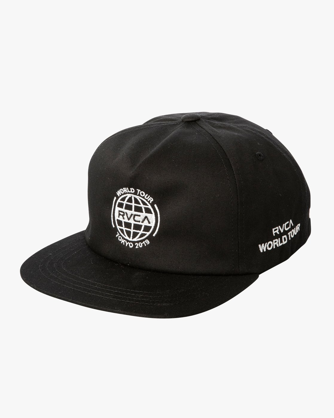 0 World Tour Tokyo - Snapback Cap for Men  Q5CPTCRVF9 RVCA