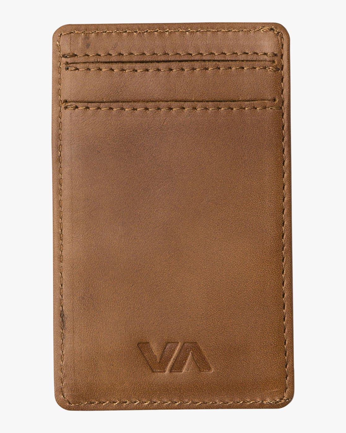 1 Clean Card - Wallet for Men Beige Q5WLRCRVF9 RVCA