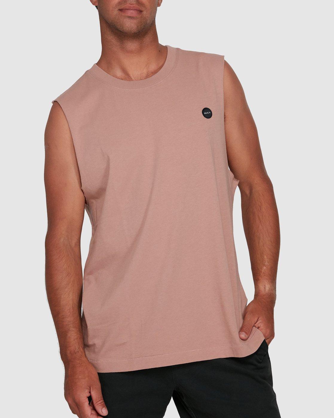 0 VAPOR MUSCLE Pink R105003 RVCA