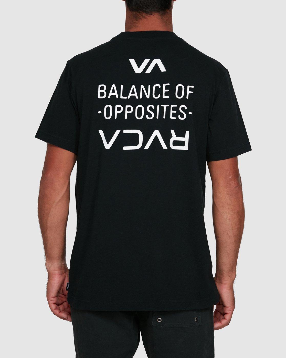 0 RVCA FAIRFAX SHORT SLEEVE TEE Black R105046 RVCA