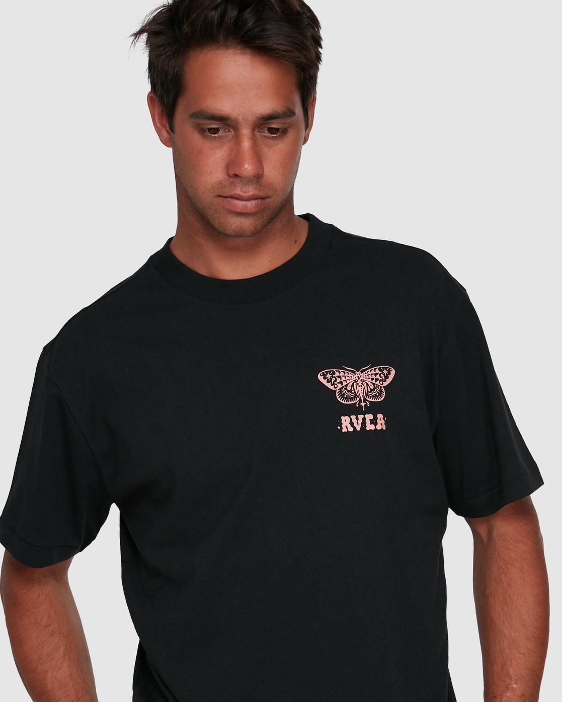 4 FAUNA SHORT SLEEVE TEE Black R105068 RVCA