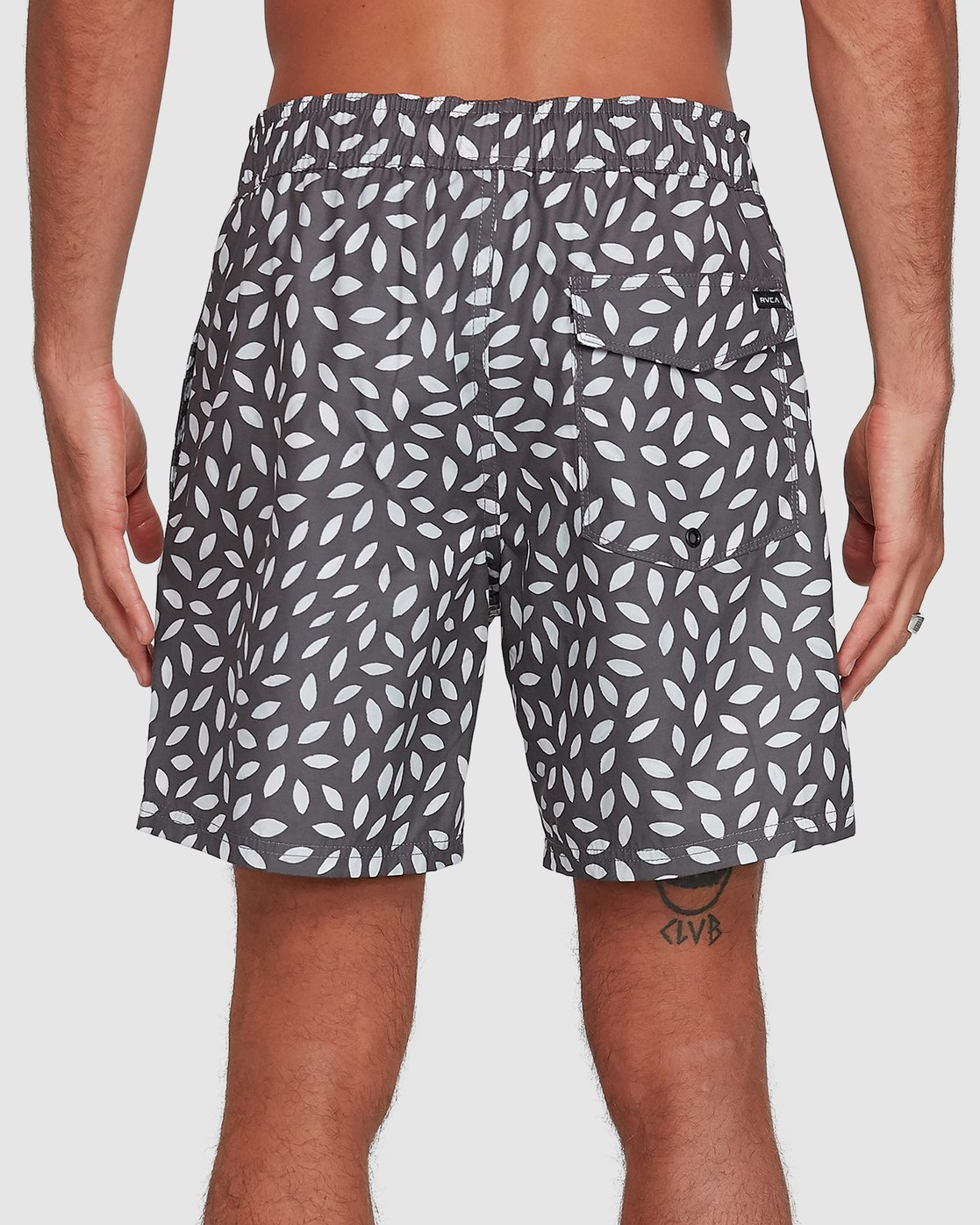 4 RADIAL ELASTIC SHORT Black R105400 RVCA