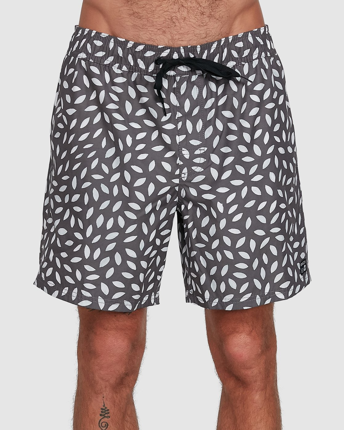 1 RADIAL ELASTIC SHORT Black R105400 RVCA